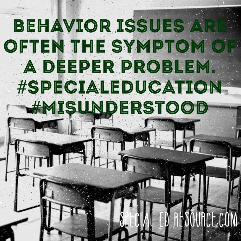 Behavior Issues Are Often The Symptom Of A Deeper Problem.