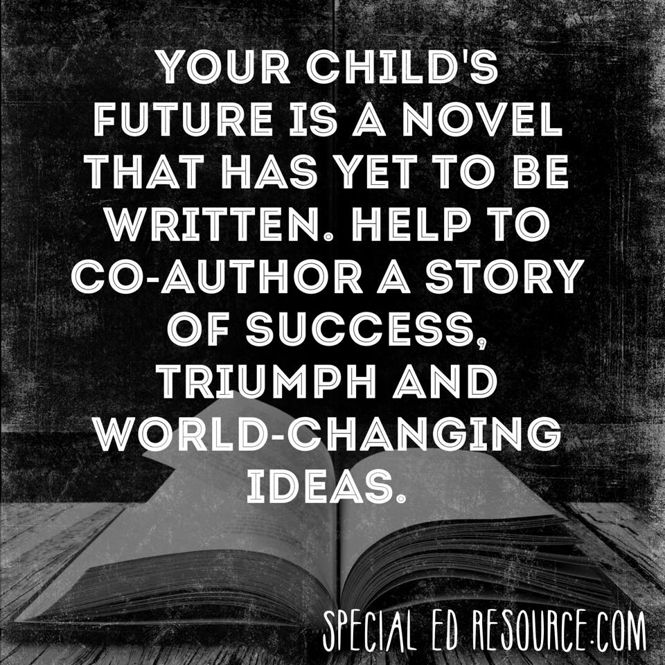 Help Your Child Write Their Successful Life Story | Special Education Resource