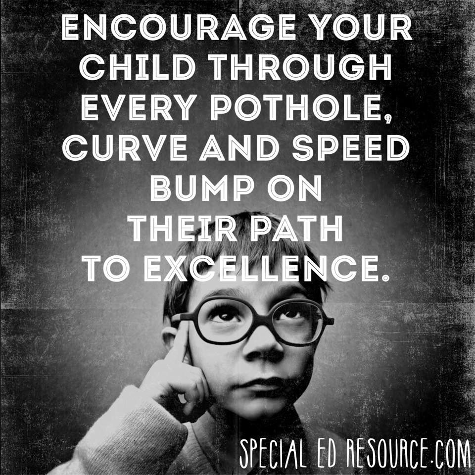 Encourage Your Child On Their Path To Excellence | Special Education Resource