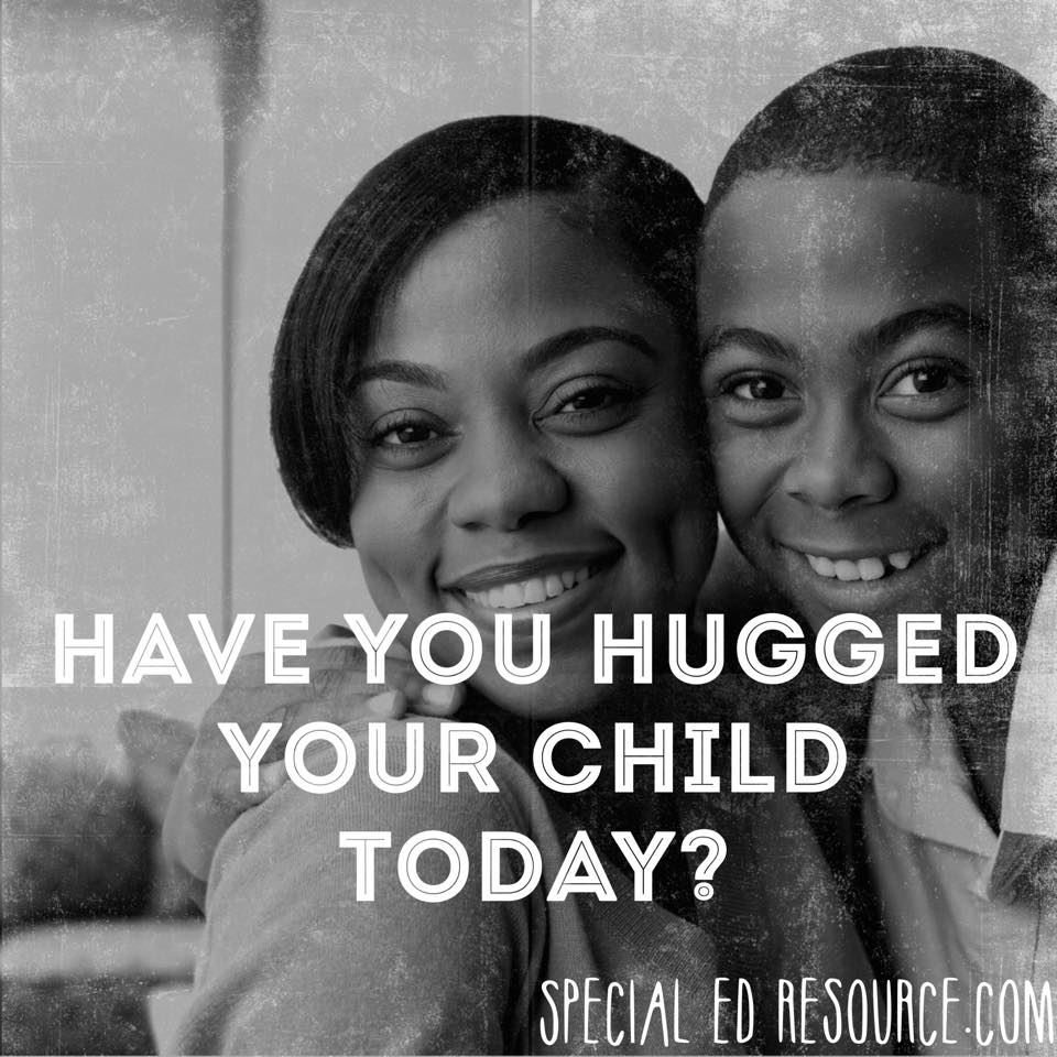 Hug Your Child DailyHug Your Child Daily | Special Education Resource