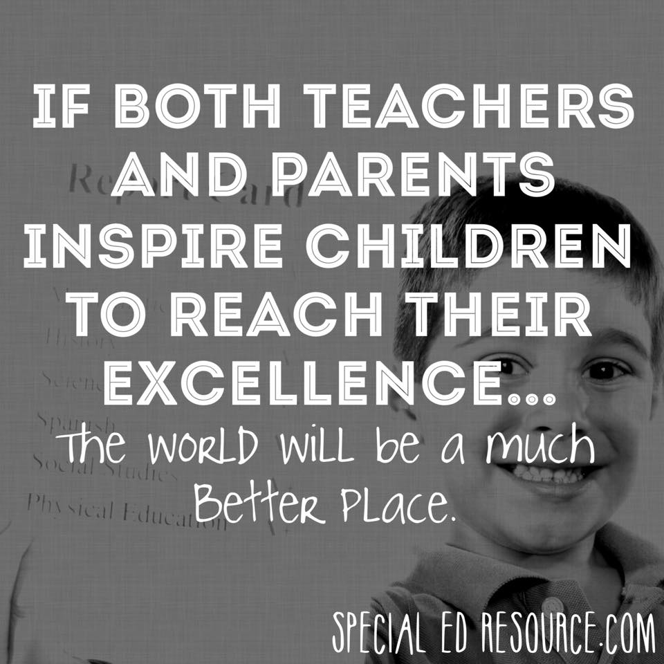Inspire Children To Reach Excellence | Special Education Resource