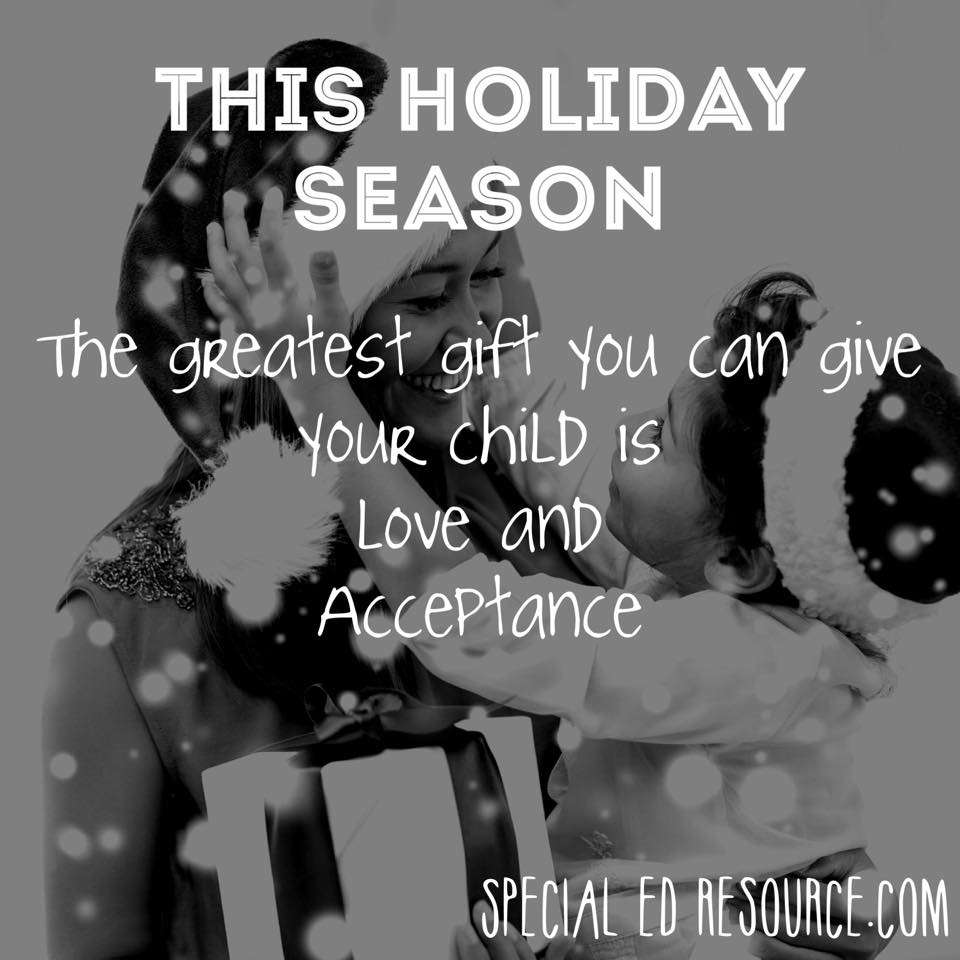 Love And Accept Your Child   Special Education Resource