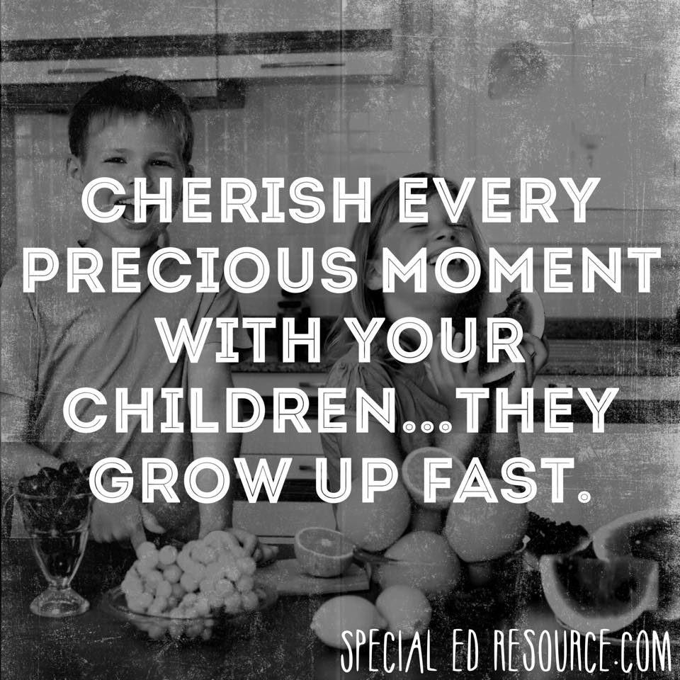 Love Your Children Quotes Cherish Every Moment With Your Children  Special Education Resource