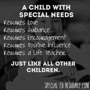 Requirements Of All Children | Special Education Resource