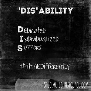 DisAbility | Special Education Resource