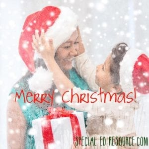 Merry Christmas | Special Education Resource