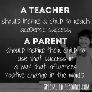 Teachers And Parents Inspire | Special Education Resource