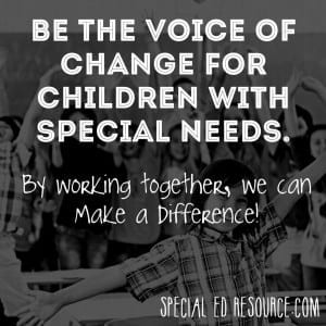 Be The Voice Of Change | Special Education Resource