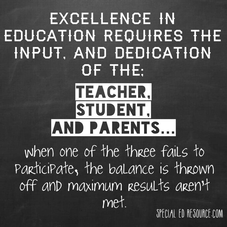 Academic Quotes Excellence In Education Requires A Balance  Specialedresource
