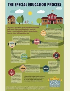 The Special Education Process Infographic
