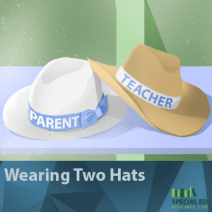 Wearing Two Hats | SpecialEdResource.com