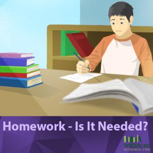 Homework - Is It Needed tanda tanya