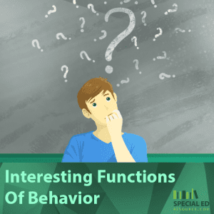 Interesting Functions Of Behavior