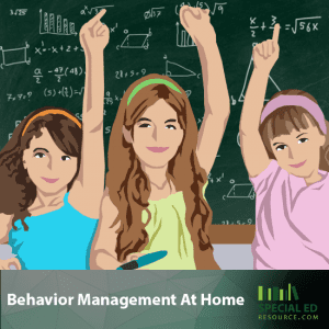 Behavior Management At Home