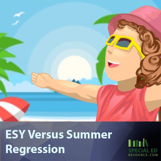 ESY Versus Summer Regression