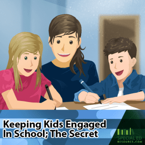 Keeping Kids Engaged In School; The Secret