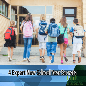 4 Expert New School Year Secrets