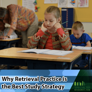 Students in a classroom getting ready to take a test why retrieval practice is the best study strategy